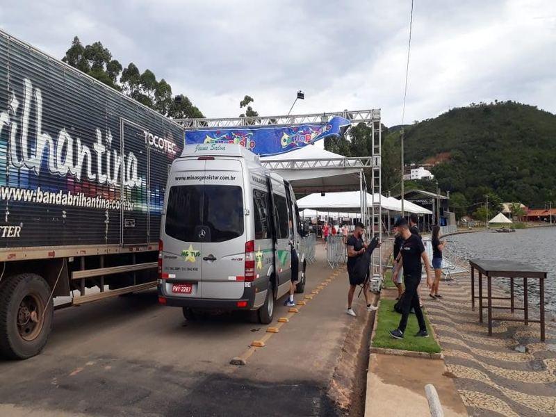 Locação de vans para bandas em Minas Gerais