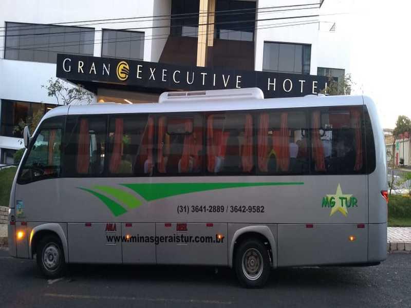 Locação de micro-ônibus para viagem a Uberlândia.