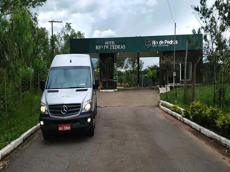 Van para viagem Belo Horizonte e Itabirito